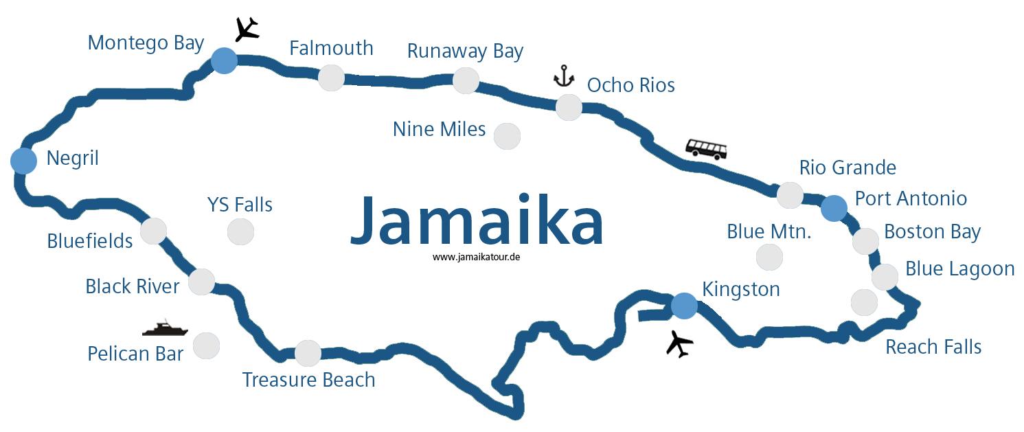 Jamaika Sehensw 252 Rdigkeiten 187 Strandurlaub Amp Rundreisen