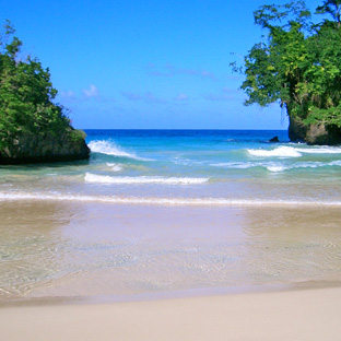 Port Antonio, Jamaika, www-jamaikatour.de Frenchmans Cove Beach