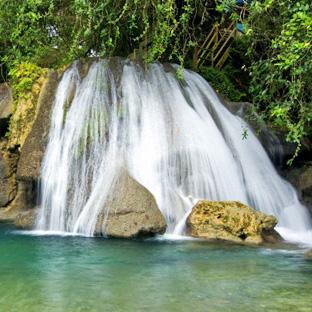 Port Antonio, Jamaika, www-jamaikatour.de Reach Falls