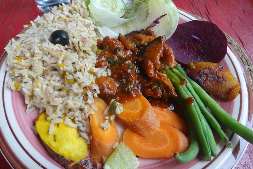 Straßenküche Jamaika