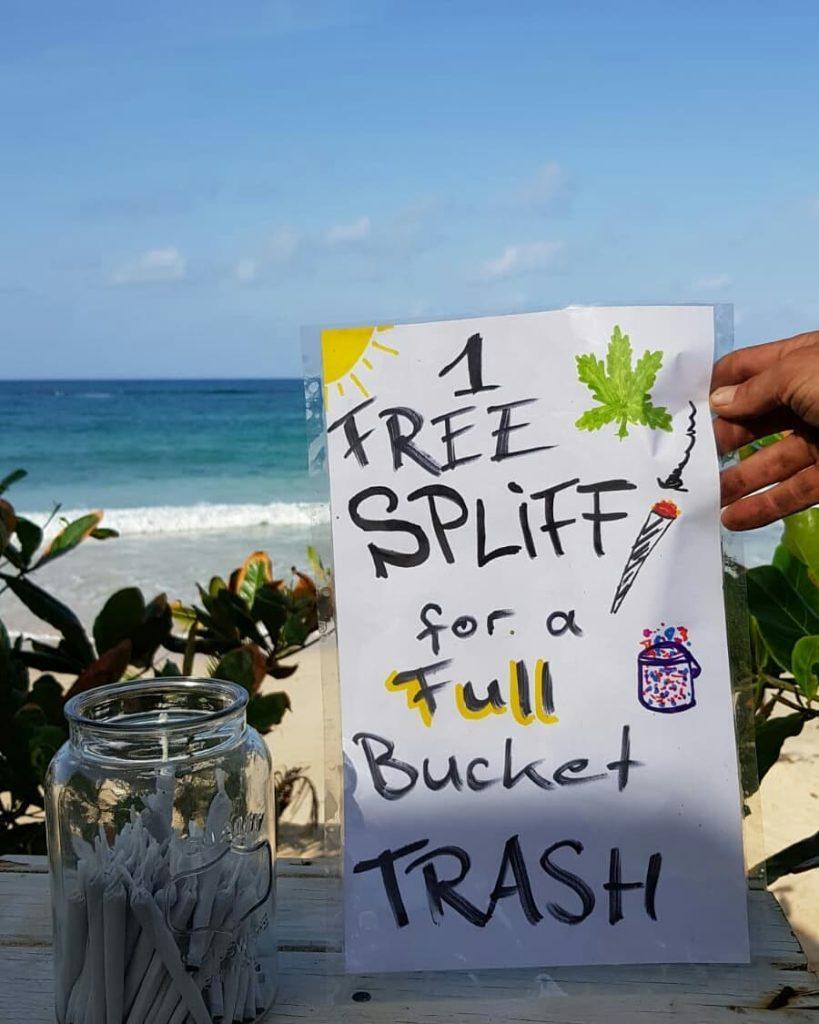 Joint gegen Müll