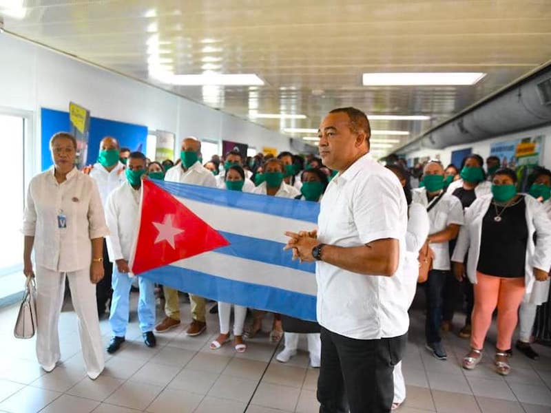 Corona Virus Jamaika hilft Kuba