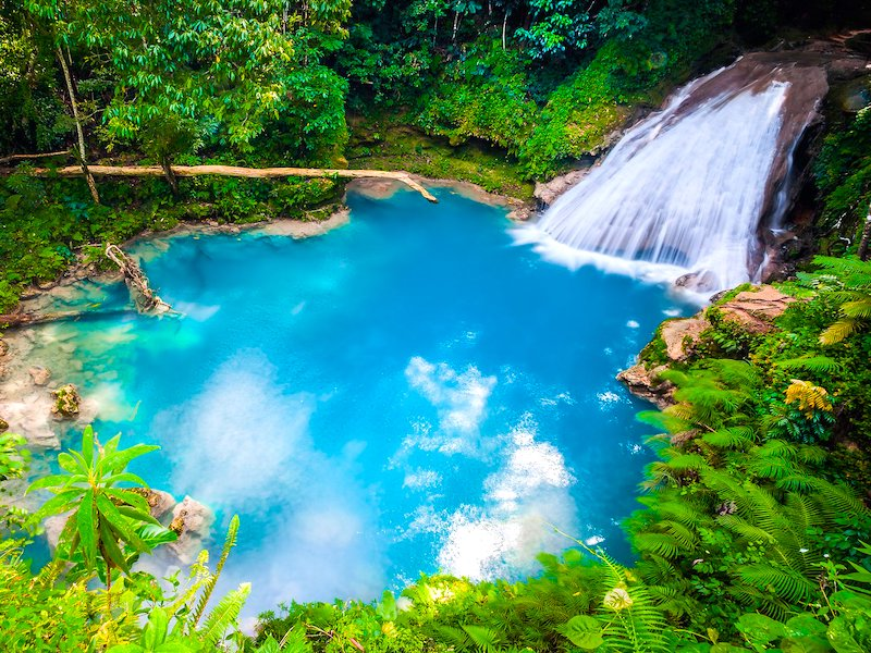 Jamaika Privattour Blue Hole in Ocho Rios