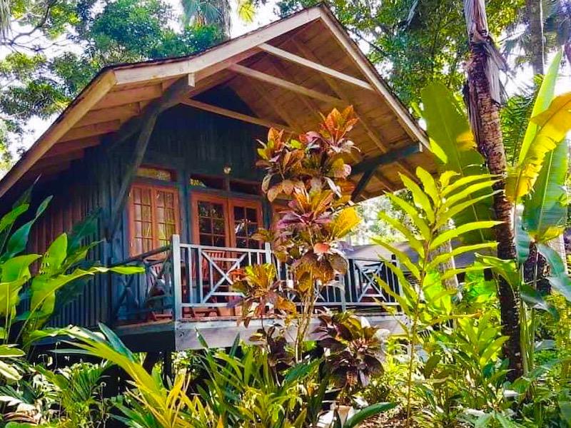 Ein Jamaika Cottage und Ferienhaus
