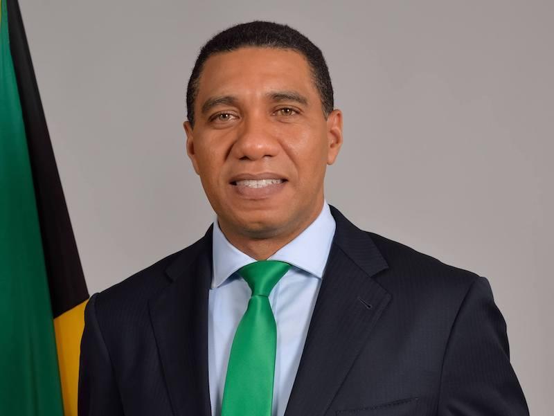 Einreise Jamaika Premierminister Andrew Holness