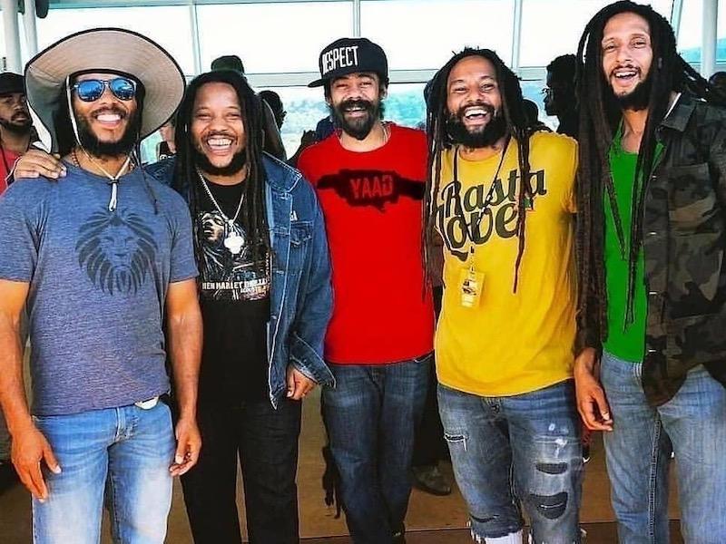 Jamaika Geschichte: Ziggy Marley, Stephen Marley, Damian Marley, Ky-Mani Marley & Julian Marley