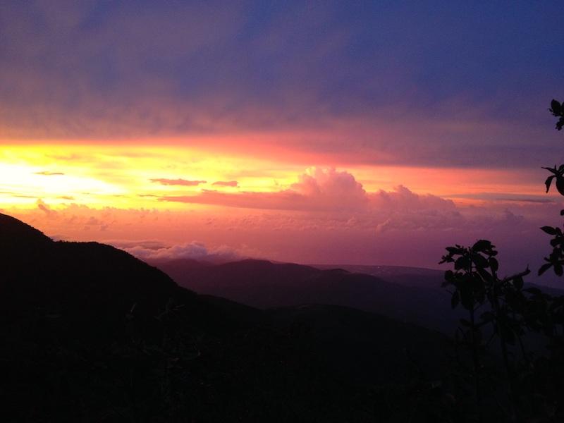 Jamaika Wanderreise Ausblick am Blue Mountain Peak
