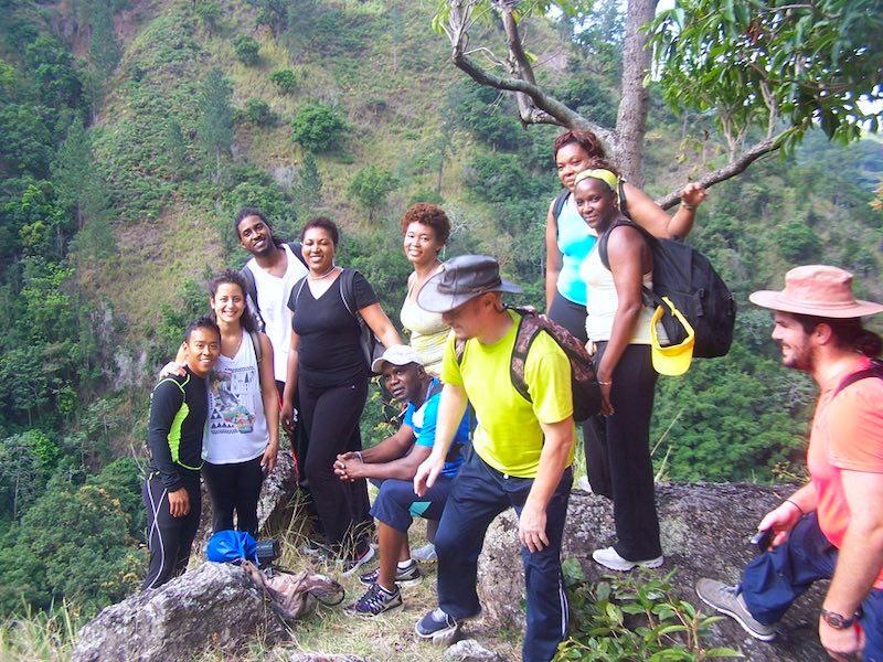 Jamaika Wandern geführte Gruppenwanderung