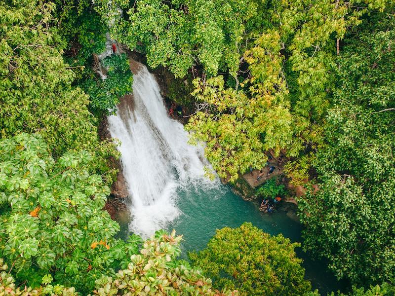 Jamaika Wandern  Wasserfälle Blue Mountains