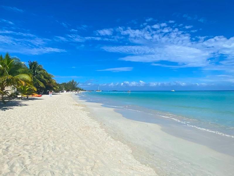 Seven Mile Beach in Jamaika
