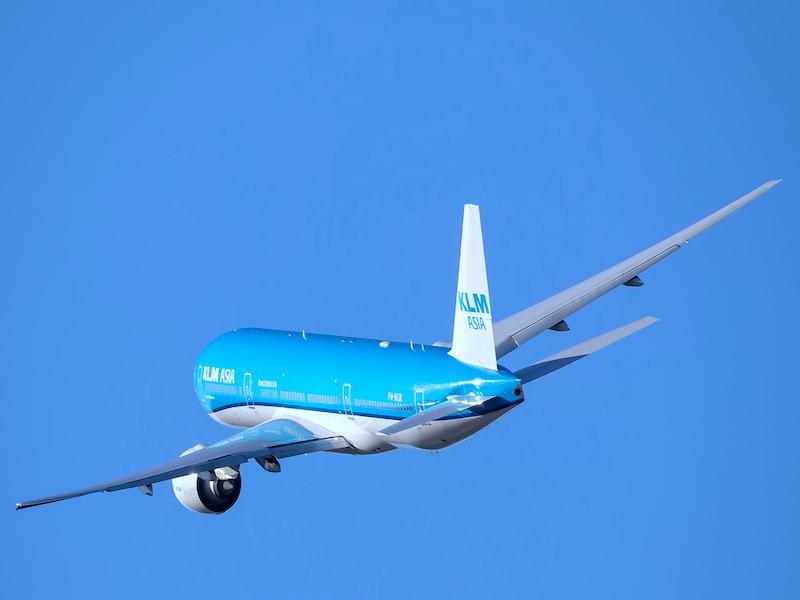 Mit KLM nach Jamaika