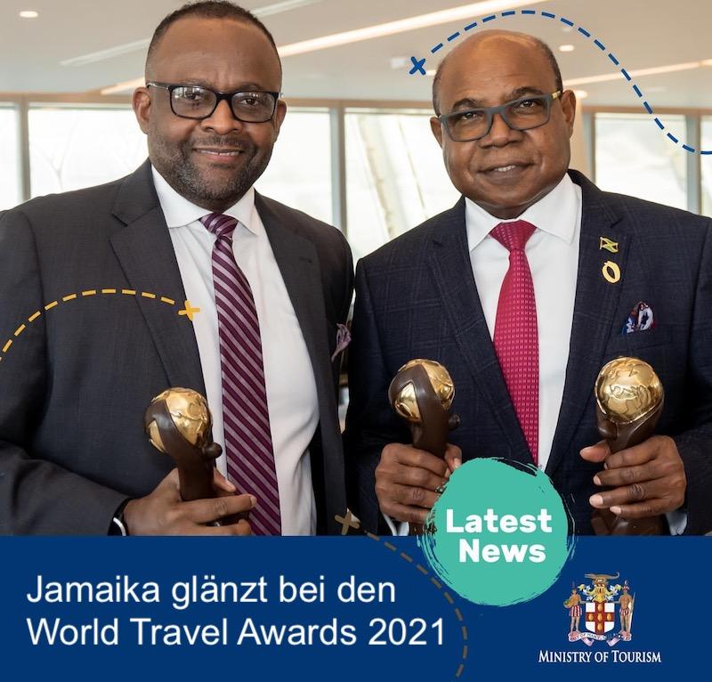Jamaika gewinnt World Travel Awards 2021